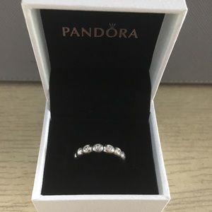 Pandora Bright Lights Clear CZ Ring